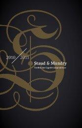 2010 2011 Staud & Mundry - Staatskapelle Dresden