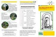 Die offene Pforte 2012 - Offene Gartenpforte Achim