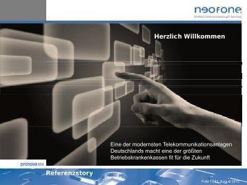 PPT Referenzstory [PDF, 2,9 MB] - neofone
