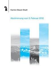 Abstimmung vom 5. Februar 2012 - Regierungsrat - Basel-Stadt