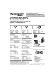 Operating manual pressure switch 18D Bedienungsanleitung ...