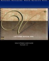 Solo Strings - Kirk Hunter Studios