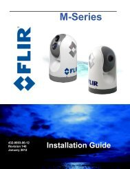 432-0003-00-12 Rev 140 M-Series Installation ... - FLIR Systems