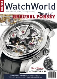 in switzerland - Greubel Forsey