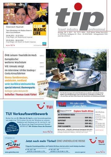 TUI Verkaufswettbewerb - tip