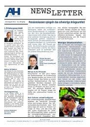 1.20-Untergrenze bleibt - AH Finanz GmbH