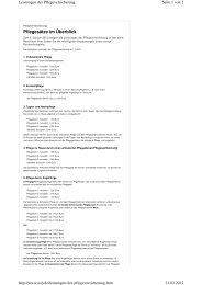 Leistungen Pflegeversicherung 2012.pdf - SAD-Lippe eV