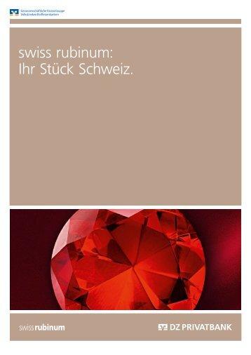 "(PDF-Datei) ""SwissRubinum"" - Vereinigte Volksbank AG"