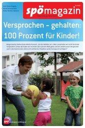 Versprochen - gehalten: 100 Prozent für Kinder! - SPÖ Salzburg