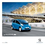 100% ELECTRIC - Peugeot