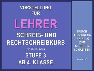 lautlos mitsprechen - Unkonzentrierte-Schueler.de