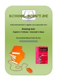 Englisch in 15 Minuten - Grammatik 5. Klasse - School-Scout
