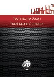 Technische Daten TouringLine Compact - AD-Systems