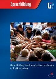 Sprachbildung durch kooperative Lernformen in der Grundschule