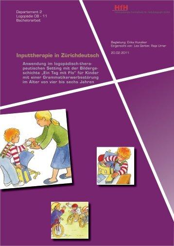 Inputtherapie in Zürichdeutsch - BSCW