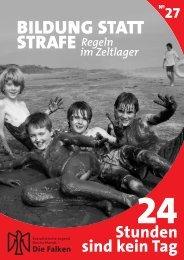 bildung statt strafe - Sozialistische Jugend Deutschlands - Die Falken