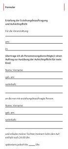Ohne Eltern ausgehen? Elterninfo zum Erziehungsauftrag - Stadt Köln - Seite 6