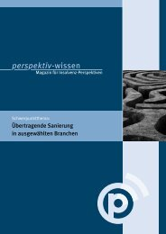 perspektiv-wissen – Magazin für Insolvenz ... - perspektiv GmbH