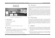 Versuch 25 Oszilloskop - Physikalisches Institut Heidelberg ...