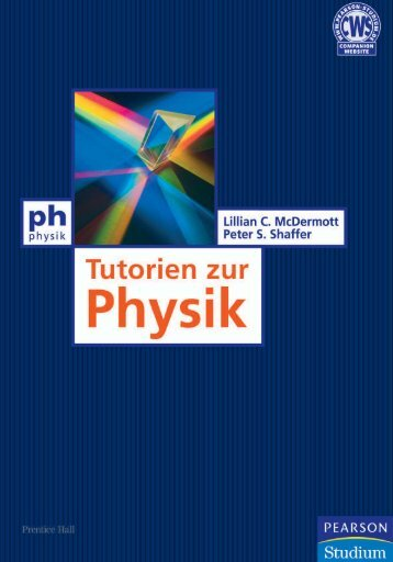 Tutorien zur Physik  - *ISBN ... - Pearson Studium