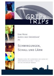 Schwingungen, Schall und Lärm - Universum Bremen