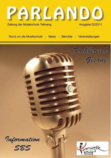 PARLANDO - Musikschule Tettnang
