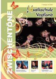 7. Jahrgang – Nr. 1/2011 - Musikschule Vogtland