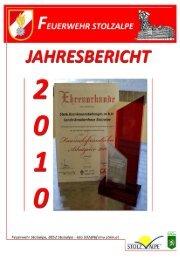 Jahresbericht 2010 - LKH Stolzalpe