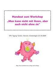 Handout zum Workshop