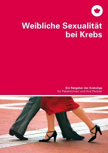 Broschüre - Weibliche Sexualität bei Krebs - Krebsliga Schweiz