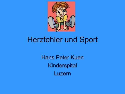 Herzfehler und Sport - Elternvereinigung für das herzkranke Kind