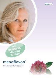 Fachinformationen zu menoflavon - Kyberg Vital