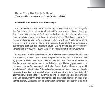 Wechseljahre aus medizinischer Sicht - 55PLUS-Magazin