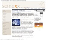 scinexx | Hormonmangel schädigt Gehirn: Häufigkeit von ...