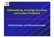 Hitzewallung, brüchige Knochen und andere Probleme - Deutsche ...