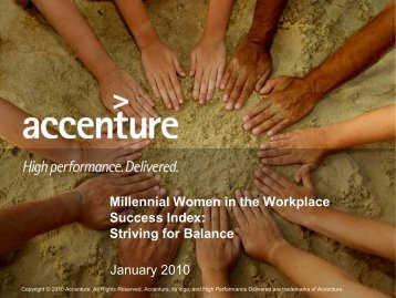 Millennial Women in the Workplace Success Index: Striving for ...
