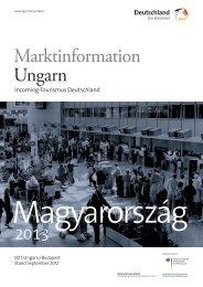 Marktinformation Ungarn - Germany – travel