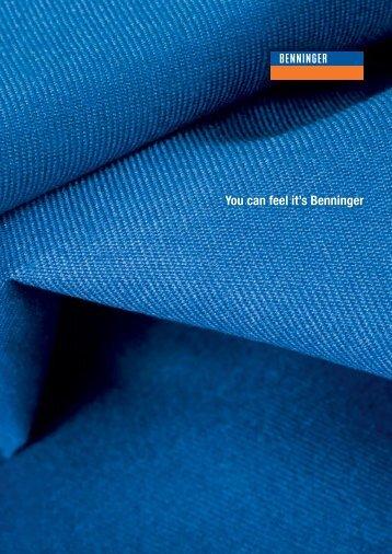 You can feel it's Benninger - Benninger AG