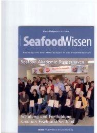 Schulung und Fortbildung rund um Fisch und Seafood