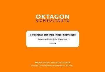 Marktanalyse stationäre Pflegeeinrichtungen - Oktagon Consultants ...