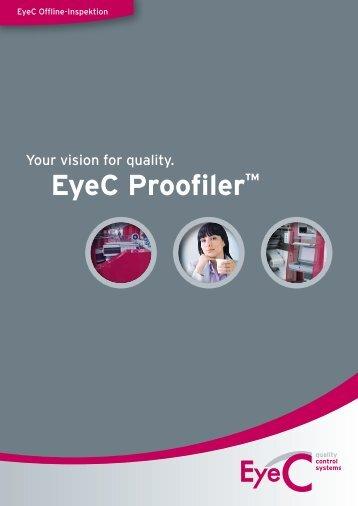 EyeC Proofiler™ - EyeC Benelux