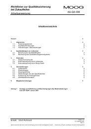 Richtlinien zur Qualitätssicherung bei Zukaufteilen Arbeitsanweisung