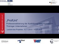 ProfUnt - BiBB