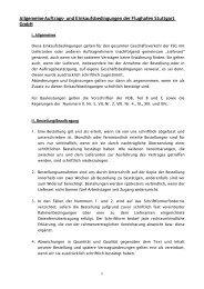 Allgemeine Auftrags- und Einkaufsbedingungen der ... - Stuttgart