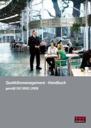Qualitätsmanagement - Handbuch - Securitas