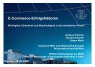 E-Commerce Erfolgsfaktoren - Wichtigkeit, Einfachheit und ...