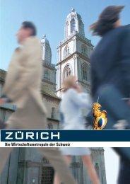 Die Wirtschaftsmetropole der Schweiz