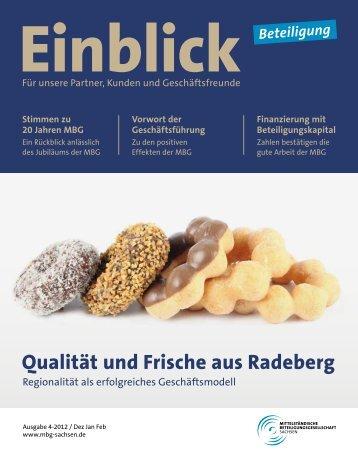 Qualität und Frische aus Radeberg - Mittelständische ...