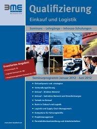 Einkauf und Logistik - BME