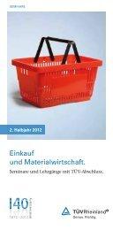 Einkauf und Materialwirtschaft. - TUV Rheinland